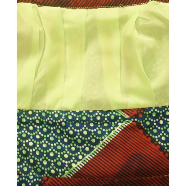 Size L, Stylish Midi Ankara Gown