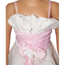 (0-8 Months) Girls Sleeveless Bow Knot Dress
