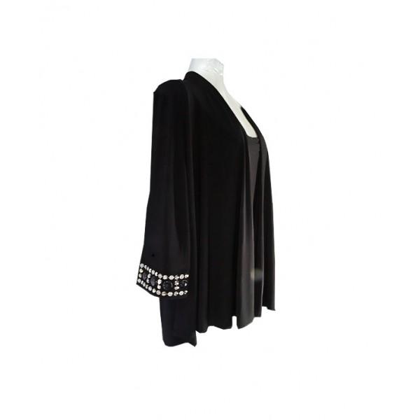 Size 20, R&M 2 in 1 Female Black Jacket