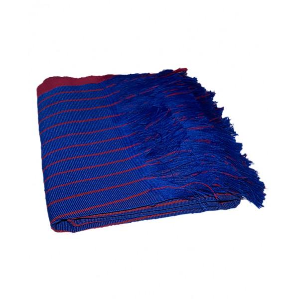 ASO OKE (shawl) Red & Blue - 2 pieces.