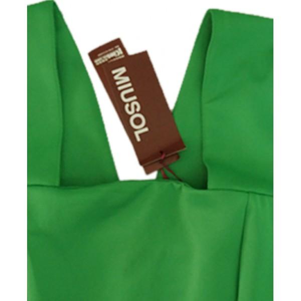 Size 2XL, Miusol Green Mini Dress