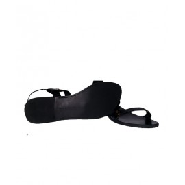 Size 40, Lady's Charles & Keith Black Sandal