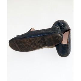 (3-4 Years) Boy's Glittering Leather Shoe