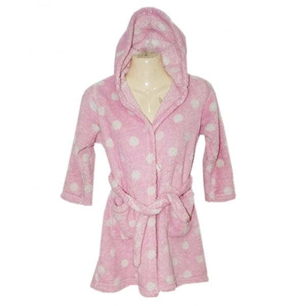 Kids Long Sleeve Bath Robe
