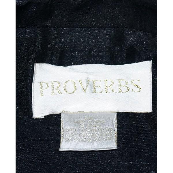 Size 20,  Black Blazer Proverb Jacket