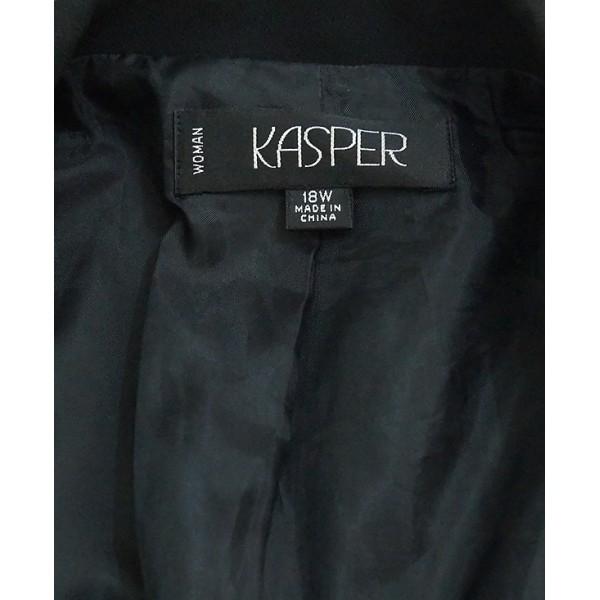 Size 18,  Black Kasper Jacket