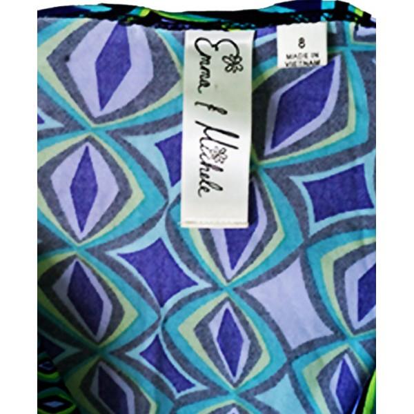 Size: 8, Multicolour Short Gown