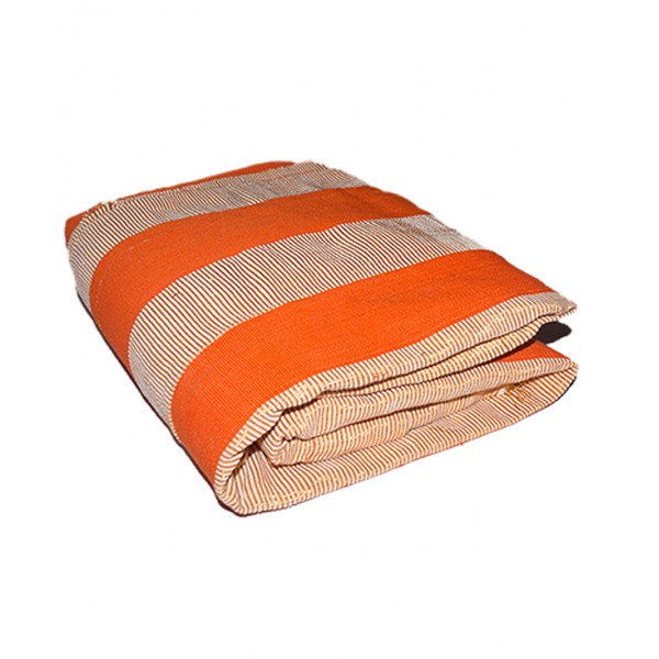 ASO OKE (shawl) Orange & Gold - 2 pieces.
