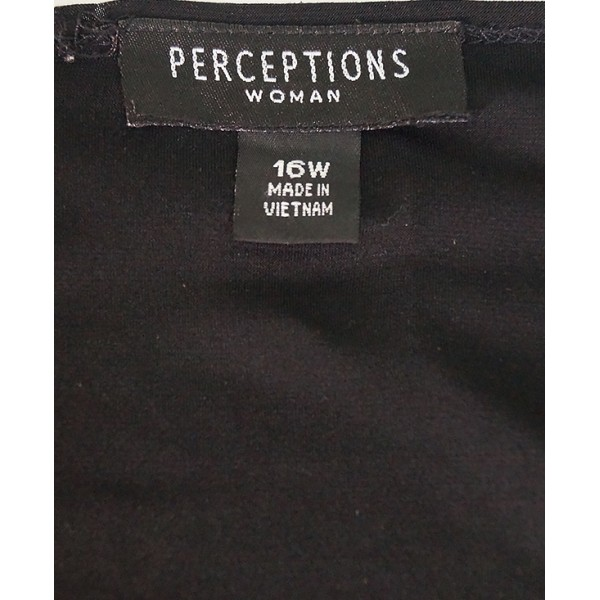 Size 16, Black Silk Perception Ladies Shrug Jacket