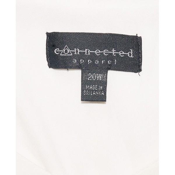 Size: 20W, White Bubu Chiffon Gown